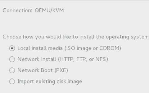 Linux虚拟化安装