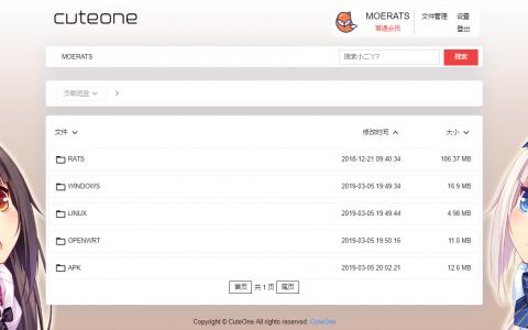 CuteOne:一款基于Python3的OneDrive多网盘挂载程序,带会员/同步等功能